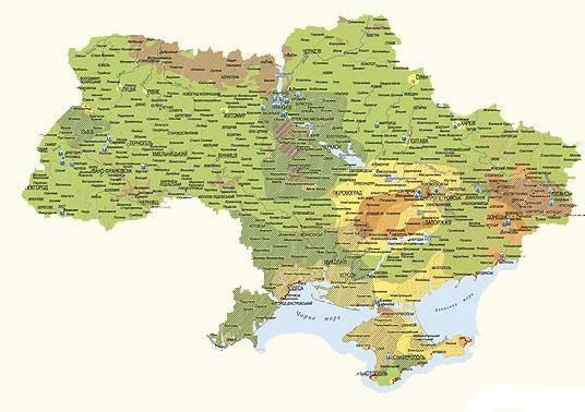 Дорожня карта України на ярмарке