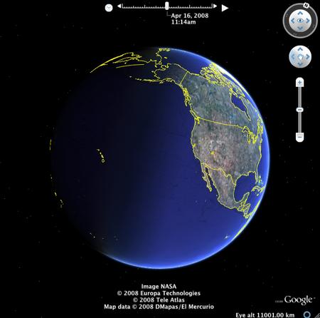 Карта Мира Со Спутника.Rar