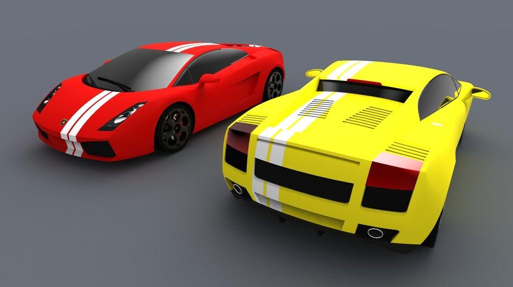 3D model by lamborghini gallardo | 3D модель Lamborghini Gallardo